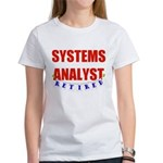 Retired Systems Analyst Women's T-Shirt
