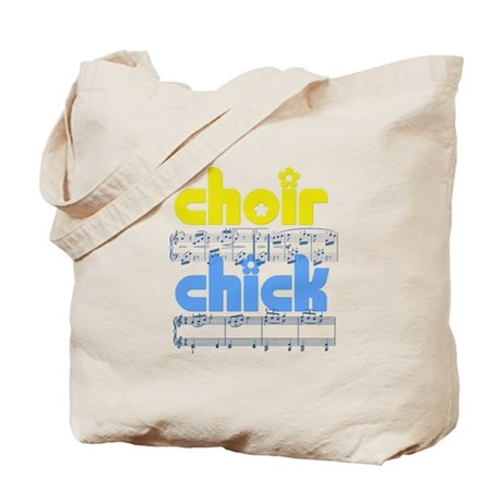 Choir Chick Tote Bag