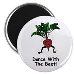 "Dance With The Beet 2.25"" Magnet (10 pack)"
