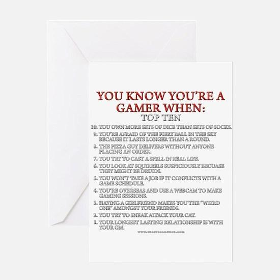 YKYAGW - Top Ten Greeting Card