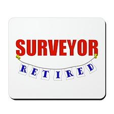 Retired Surveyor Mousepad