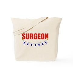 Retired Surgeon Tote Bag