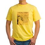 Pearl Hart Yellow T-Shirt