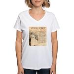 Pearl Hart Women's V-Neck T-Shirt