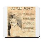 Pearl Hart Mousepad