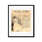 Pearl Hart Framed Panel Print