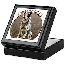 Australian Blue Heeler Keepsake Box