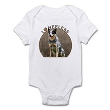 Australian Blue Heeler Infant Bodysuit