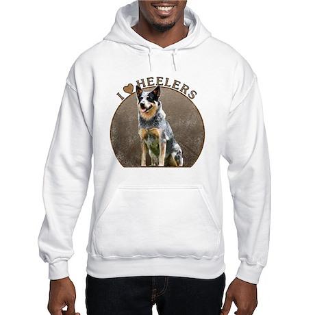 Australian Blue Heeler Hooded Sweatshirt