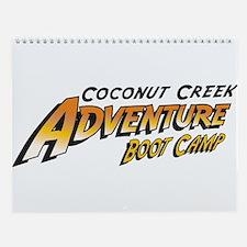 12 Month 2009 Adventure Boot Camp Wall Calendar