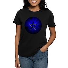 Ominous Blue Pentagram Tee