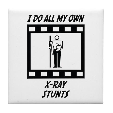 X-Ray Stunts Tile Coaster