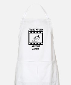 Writing Stunts BBQ Apron