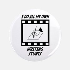 "Writing Stunts 3.5"" Button"