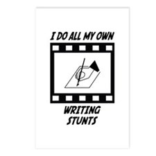 Writing Stunts Postcards (Package of 8)