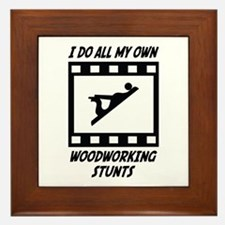 Woodworking Stunts Framed Tile