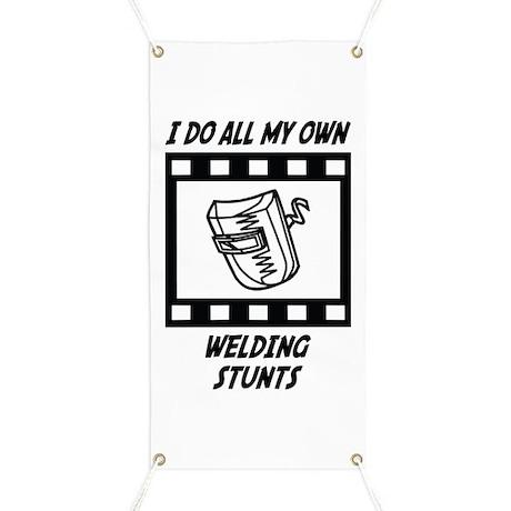 Welding Stunts Banner