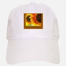 Love Grows Here Sunflowers Baseball Baseball Cap