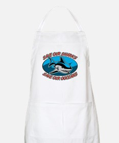 Save Our Sharks BBQ Apron