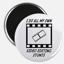 Video Editing Stunts Magnet