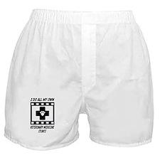 Veterinary Medicine Stunts Boxer Shorts