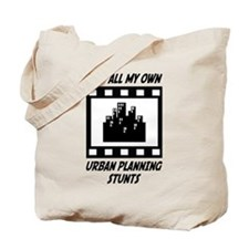 Urban Planning Stunts Tote Bag