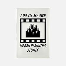 Urban Planning Stunts Rectangle Magnet