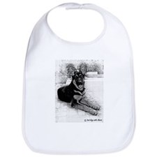 Unique German shepherd Bib