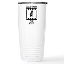 Tuba Stunts Travel Mug