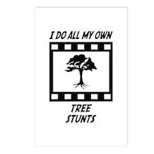 Tree Stunts Postcards (Package of 8)