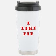 Funny I like pie Travel Mug