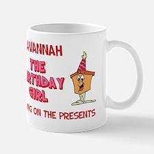 Savannah - The Birthday Girl Mug