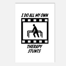 Therapy Stunts Postcards (Package of 8)
