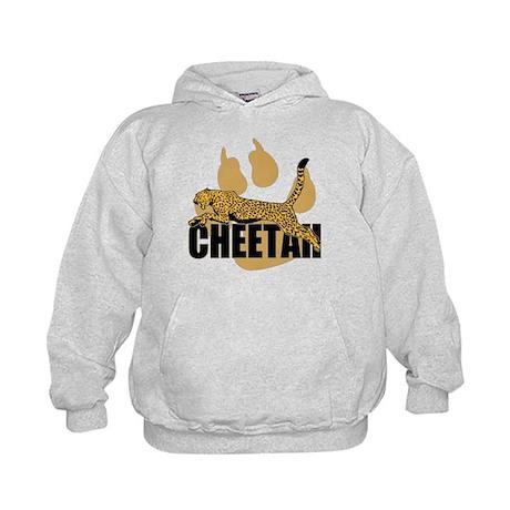 Cheetah Power Kids Hoodie