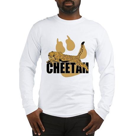 Cheetah Power Long Sleeve T-Shirt