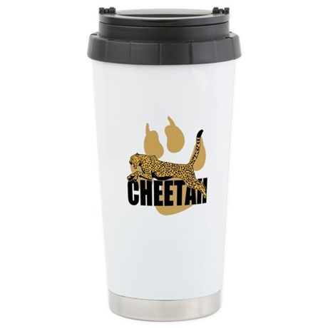 Cheetah Power Stainless Steel Travel Mug