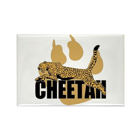 Cheetah Power Rectangle Magnet (10 pack)