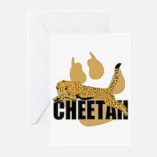 Cheetah Power Greeting Cards (Pk of 20)