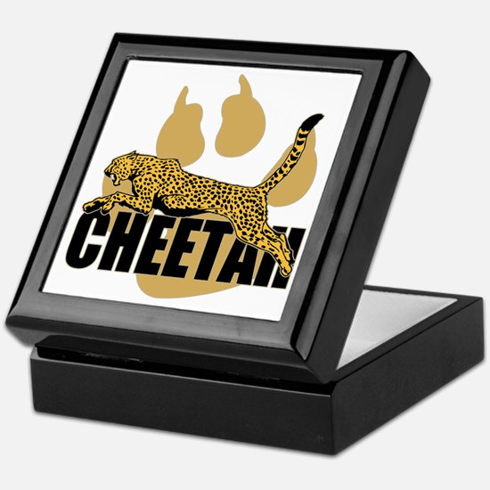 Cheetah Power Keepsake Box