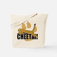 Cheetah Power Tote Bag