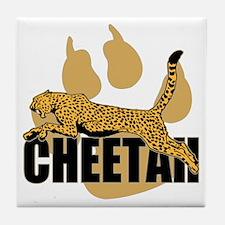 Cheetah Power Tile Coaster
