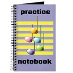 Music Practice Notebok