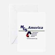 MCS America Logo Greeting Card