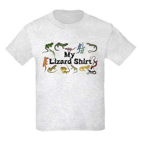 My Lizard Shirt Kids Light T-Shirt