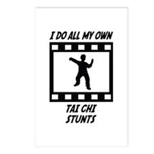 Tai Chi Stunts Postcards (Package of 8)