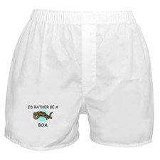 I'd Rather Be A Boa Boxer Shorts