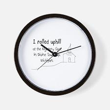 mysteryspot Wall Clock