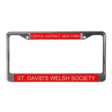 Cute District License Plate Frame