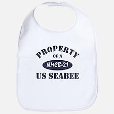 Property of NMCB 21 Seabee Bib