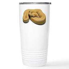 Burmese Python Snake Travel Mug